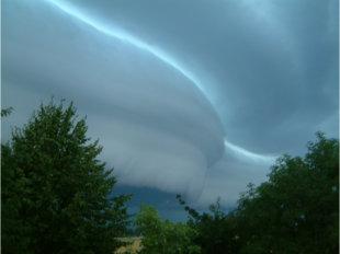 Gewitter durch Naturgesetze