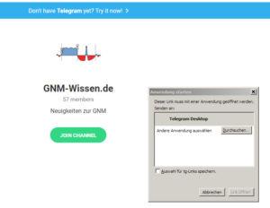 Telegram bestätigen